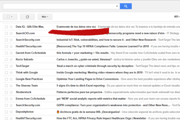 subject email marketing